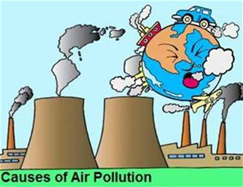 Essay about air and water pollution